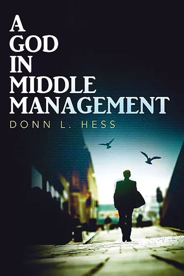 Book - A God in Middle Management Urban Fantasy